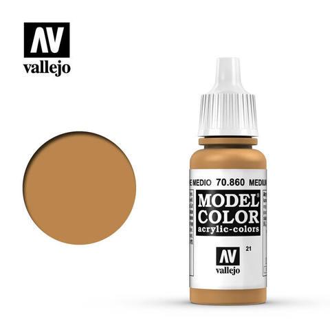 Model Color Medium Fleshtone 17 ml.
