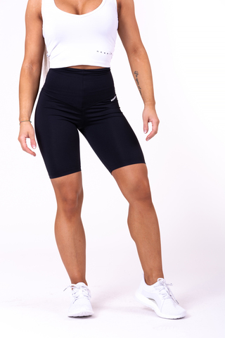 Женские велосипедки Nebbia high waist Road Hero biker shorts 683 black