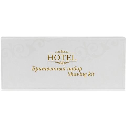 Бритвенный набор Hotel картонная упаковка 200 штук