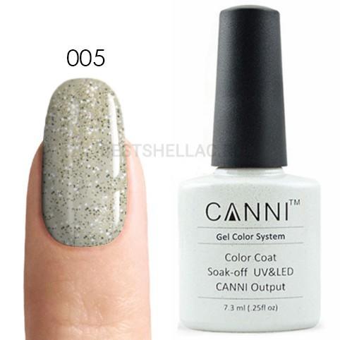 Canni Canni, Гель-лак № 005, 7,3 мл 005.jpg