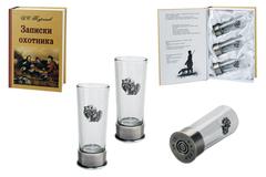 Подарочный набор «Записки охотника» с боекомплектом стопок