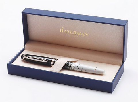 Waterman Expert Ombres & Lumieres CT, ручка-роллер, F, BL