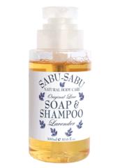 Питательный гель для душа и шампунь 2 в 1 с маслом лаванды, Sabu-Sabu