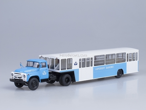 ZIL-130V1 with semitrailer APPA-4 Airport Bykovo Start Scale Models (SSM) 1:43