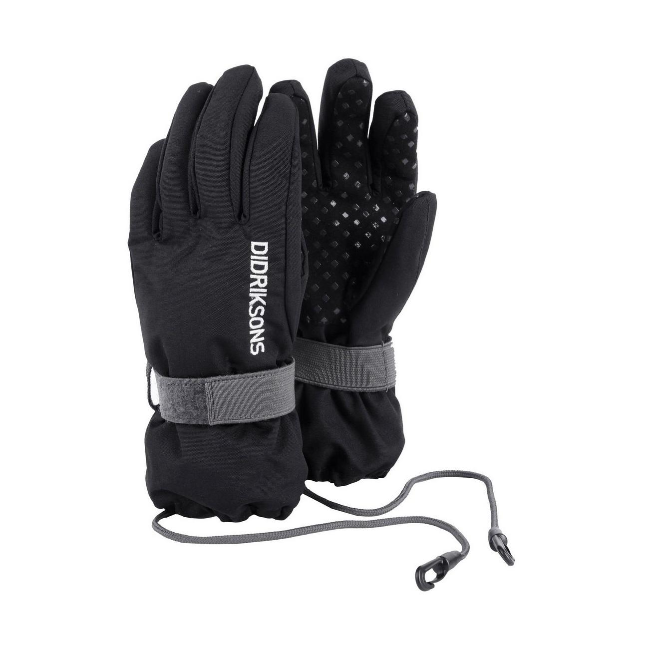 перчатки Didriksons Biggles Five Black
