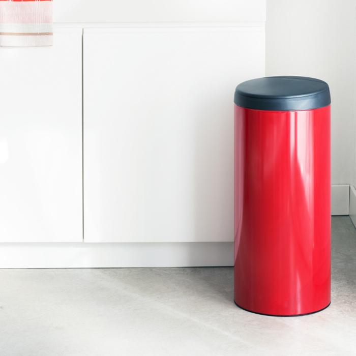 Мусорный бак Flip Bin (30 л), Пламенно-красный, арт. 106903 - фото 1