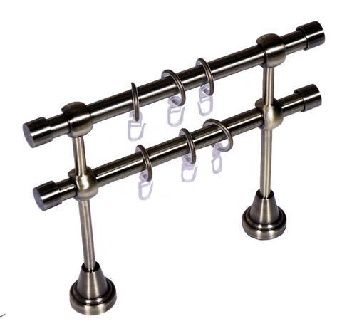 Карниз Кованый Золото Антик 2.0м (гладкая труба D16)