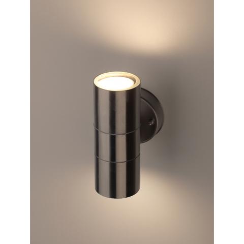 Садово-парковый светильник ЭРА WL16 2*GU10 MAX35W IP54 хром