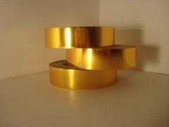 Лента металл (3 см*50 ярд) золото