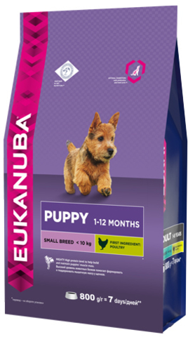 Сухой корм Eukanuba Eukanuba Puppy Small Breed