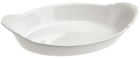 Овальное фарфоровое блюдо для запекания, белое, артикул 615270, серия French Classics