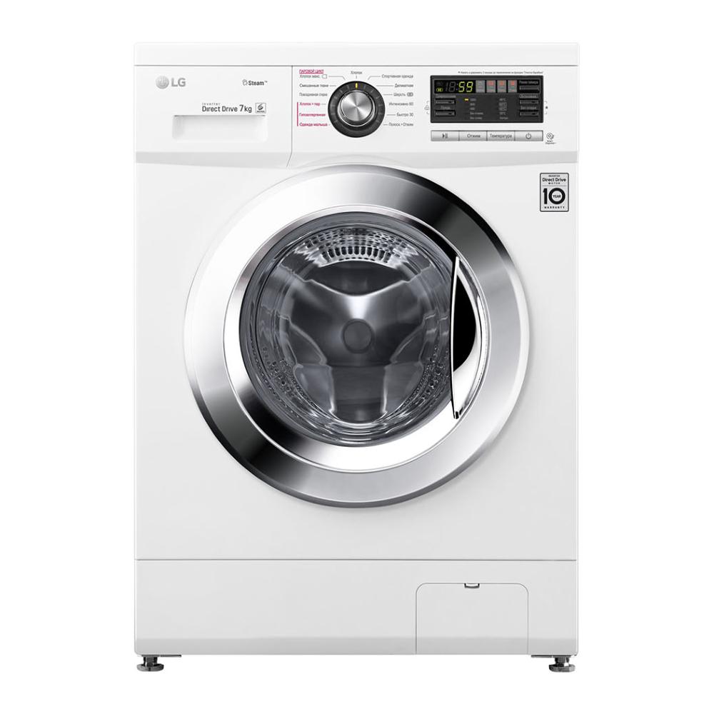 Фото - Стиральная машина LG F1296HDS3 стиральная машина lg f4v5tg0w