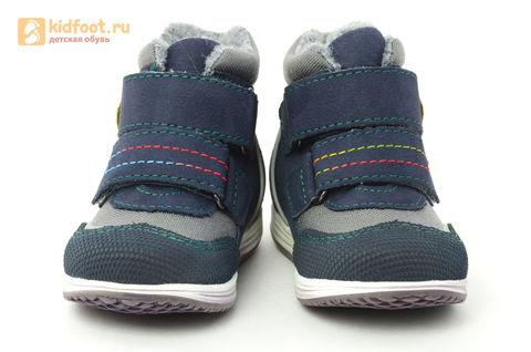 Ботинки Лель (LEL) для мальчика, цвет Темно синий, 3-882. Изображение 5 из 16.