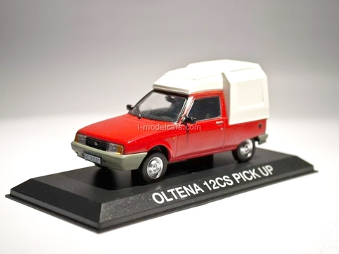 Oltena Oltcit 12CS PickUp red-white 1:43 DeAgostini Masini de legenda #72