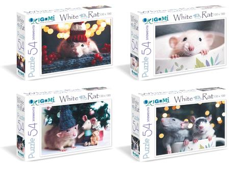 2020 Год Крысы.Пазл Мини 54 дет Вид 1. в асс/04717