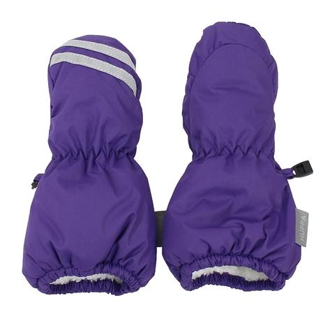 Зимние варежки HUPPA ROY для девочки фиолетовые