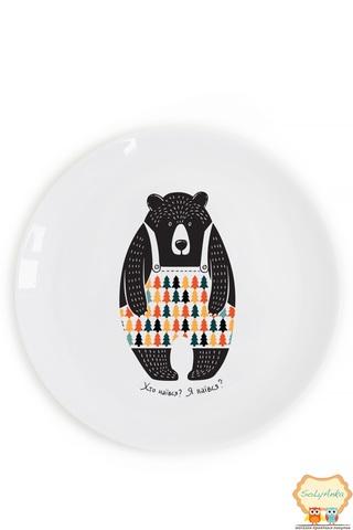 Тарілка Голодний ведмідь