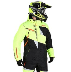 Куртка снегоходная - Sweep Snow Core -Black-Yellow