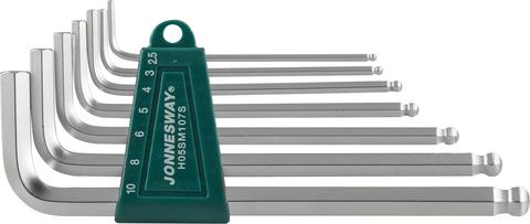 H05SM107S Комплект угловых шестиграников LONG с шаром 2,5-10мм, 7 предметов S2 материал