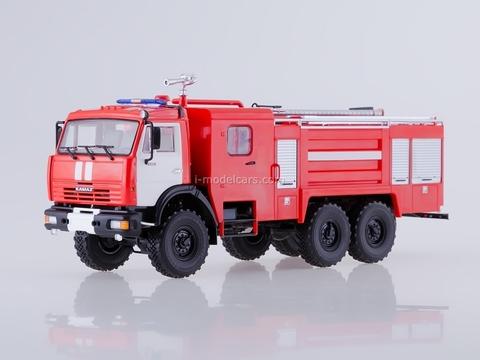 KAMAZ-43118 AC-5-40 Fire-fighting tanker 1:43 PAO KAMAZ