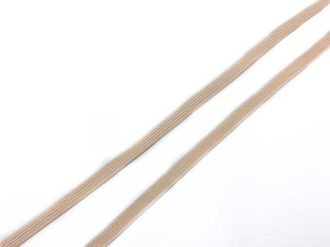 Резинка отделочная персиково-бежевая 6 мм