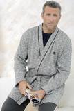 Короткий мужской халат Massana