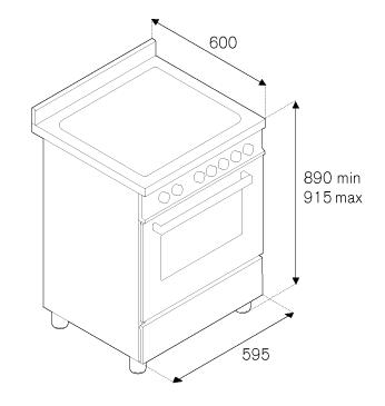 Газовая плита Bertazzoni PRO604MFESROT