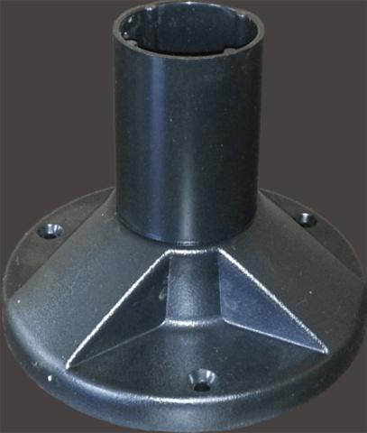 Стойка напольная для НТУ H=130 мм (поликарбонат) TDM