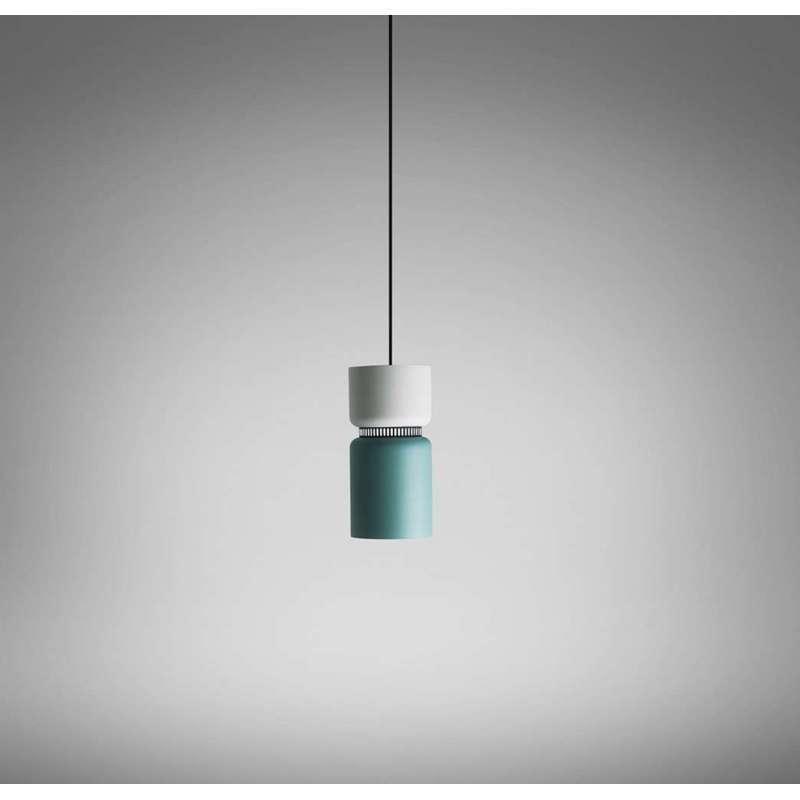 Подвесной светильник копия ASPEN S17 by B.Lux (серый+оранжевый)