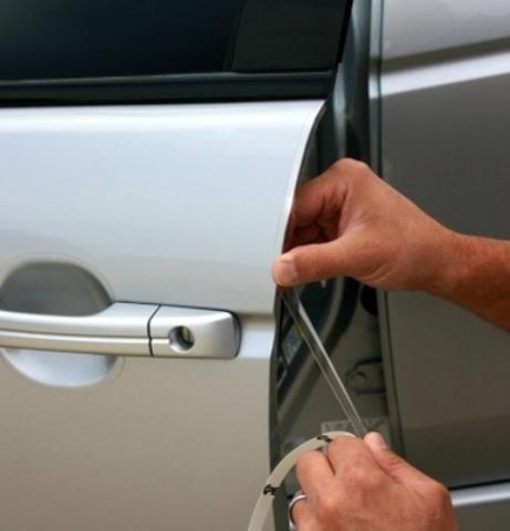 Защитная пленка на торцы дверей  (1см.)