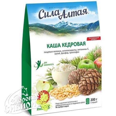 Каша КЕДРОВАЯ, 200 г Сила Алтая