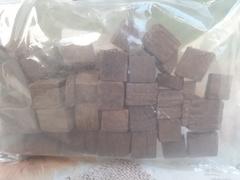 Кубики дубовые, средний обжиг и сильный 50гр