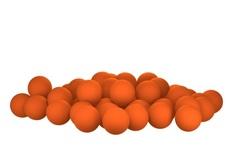 Бойлы насад. плав. Sonik Baits ORANGE Fluo Pop-ups 11мм 50мл (Оранж Мандариновое масло)