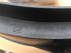 Кожух вентилятора МАН ТГЛ, корпус вентилятора, диффузор МАН ТГЛ!   В наличии, новый, оригинал!  OEM MAN - 81066200184