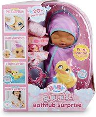 Baby Born Surprise Сюрприз ванна, сиреневая пеленка