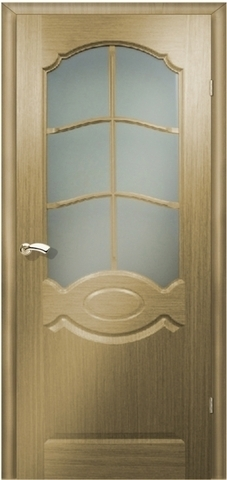Дверь Мурано (дуб, остекленная шпонированная), фабрика Маркеев