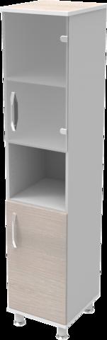 Шкаф медицинский общего назначения 1.01 тип 2 АйВуд Medical Office - фото