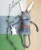 Мягкая игрушка кролик с маленьким крольчонком