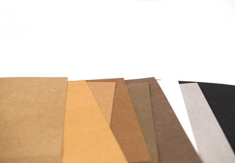 Моющаяся крафт-бумага 21,4 х 25 см, 9 цветов