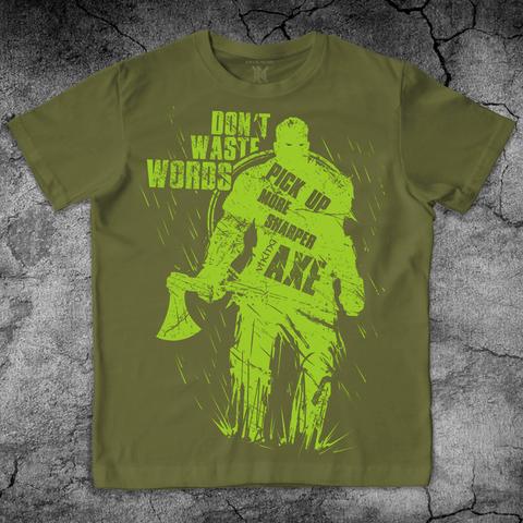 Купить хлопковую футболку Viking для пауэрлифтинга, для зала, фитнеса, стиль жизни