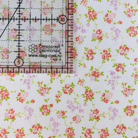 Ткань для пэчворка, хлопок 100% (арт. X0607)