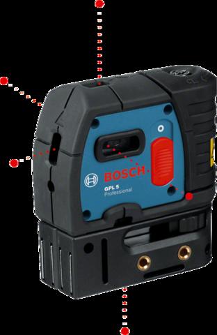 Точечный лазерный нивелир GPL 5 Professional