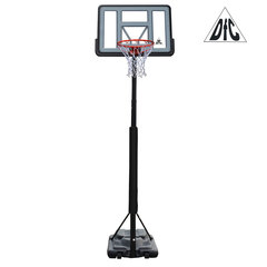 Баскетбольная мобильная стойка DFC STAND44PVC3 110x75cm ПВХ раздвиж.регулировка (STAND 4PVC3)