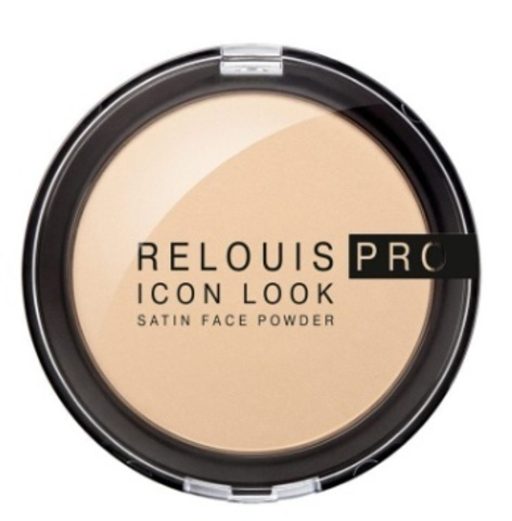 RELOUIS Пудра компактная PRO Icon Look Satin Face Powder  тон 01