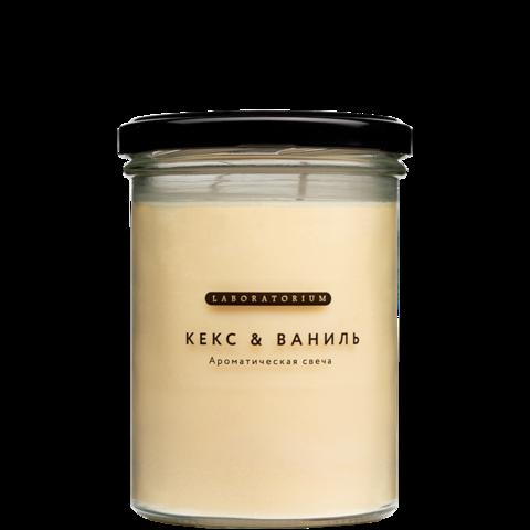 Ароматическая свеча (Кекс & ваниль)