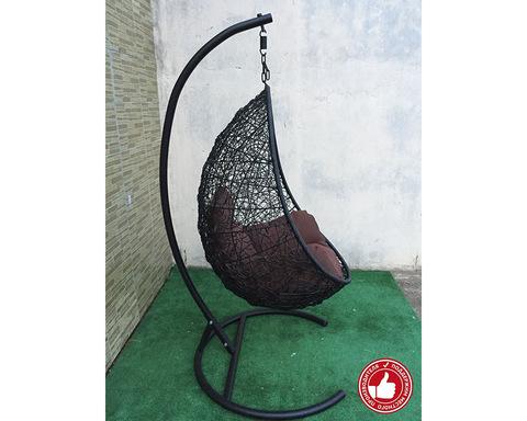 Подвесное кресло Изи черное
