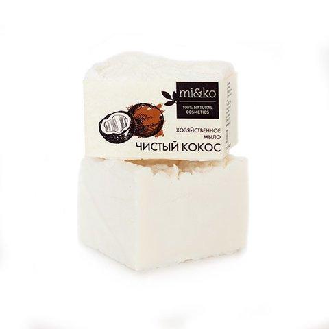 Мико Хозяйственное мыло Чистый кокос, 175 г