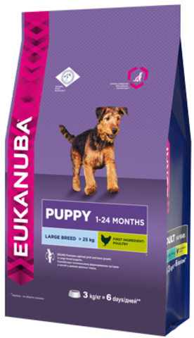 Сухой корм Eukanuba Puppy Large Breed