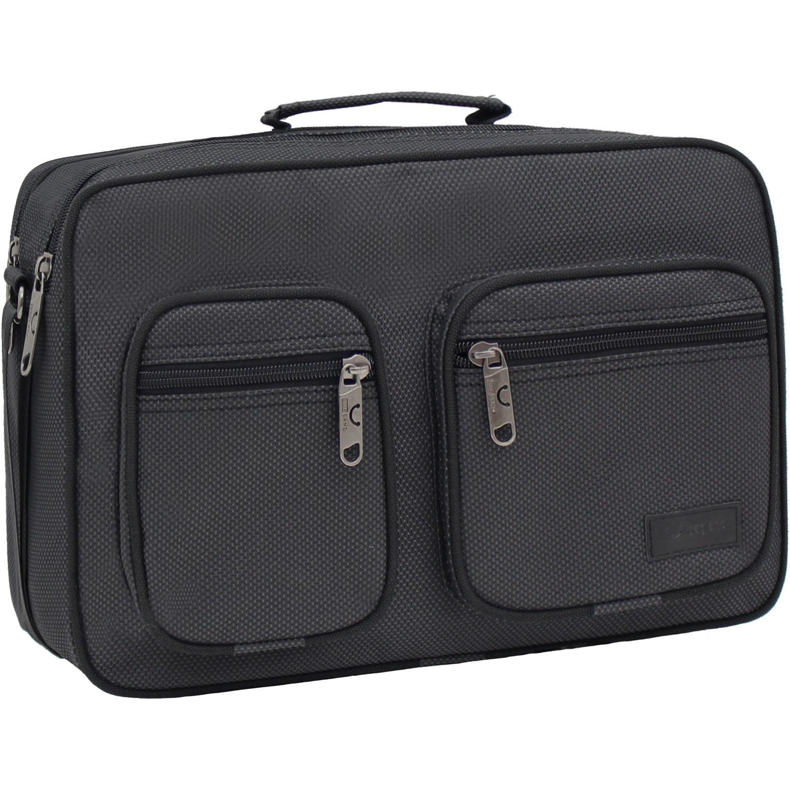 Сумки через плечо Мужская сумка Bagland Mr.Black 11 л. Чёрный (00264169) IMG_1575.JPG