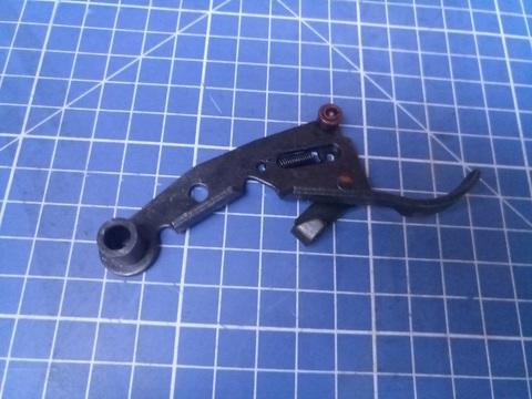 Спусковой блок (Узел №4 в сборе) для пистолета ПЦ-84, GFT5